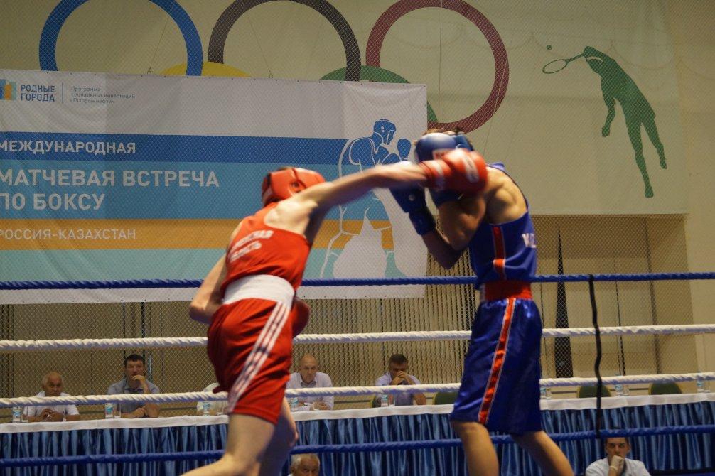 бокс россия куба матчевая встреча в тюмени