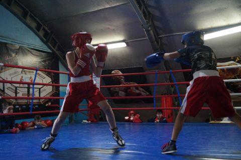 Тюменский Фонд развития бокса - официальный сайт - Фотолента - Спарринги в Ембаево, 12.11.2017г.